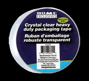 Crystal Clear Heavy Duty Packaging Tape