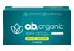 Thumbnail of product O.B. Organic - Non-Applicator Tampons, 24 units, Regular