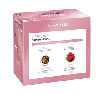 Image 2 of product Marcelle - Revival+ Skin Renewal Rosy Glow Gift Set, 4 units