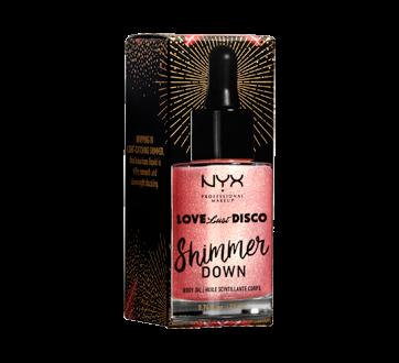 Love Lust Disco Shimmer Down Body Oil, 1 unit