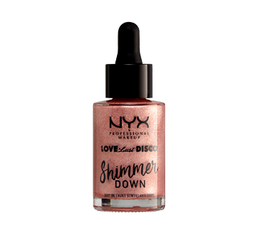 Image 2 of product NYX Professional Makeup - Love Lust Disco Shimmer Down Body Oil, 1 unit