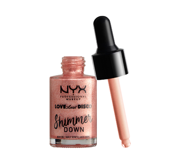Image 3 of product NYX Professional Makeup - Love Lust Disco Shimmer Down Body Oil, 1 unit