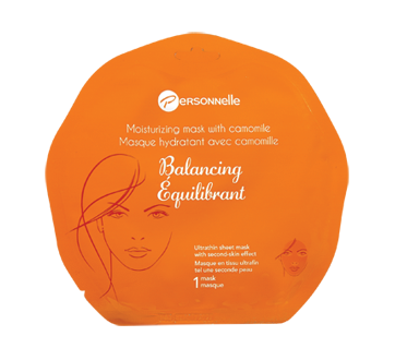 Image of product Personnelle - Moisturizing Mask with Camomile, Balancing, 1 unit