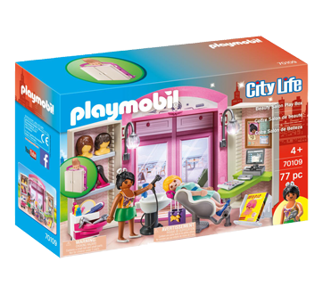 Image of product Playmobil - Hairdresser Play Box, 1 unit