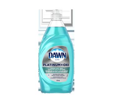 Dawn Platinum + Oxi Dishwashing Liquid Dish Soap, 479 ml, Morning Mist