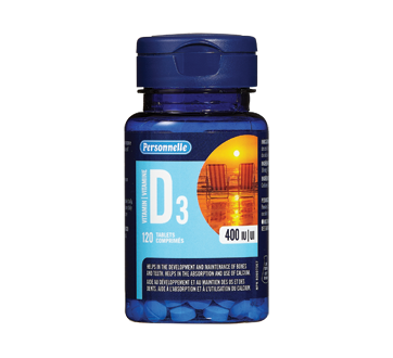 Image of product Personnelle - D3 Vitamin Tablets, 120 units