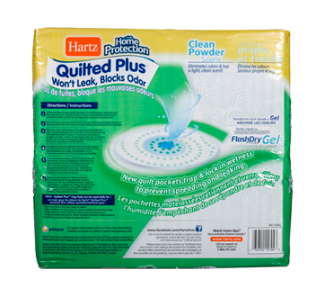 Image 2 of product Hartz - Home Protection - Quilted Plus Dog Pads, 50 units