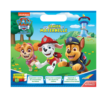 Paw Patrol Mon cahier de maternelle (French only), 1 unit