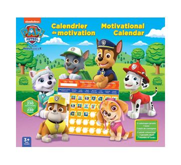 Paw Patrol Motivational Calendar, 1 unit