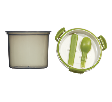 Image 2 of product Home Exclusives - Container with Spoon, 1 unit