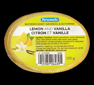 Glycerin Soap, 125 g, Lemon and Vanilla