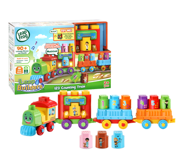 123 Counting Train, English Version, 1 unit