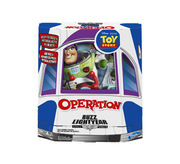 Image 1 of product Hasbro - Operation: Disney/Pixar Toy Story Buzz Lightyear Board Game, 1 unit