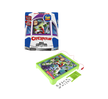Image 2 of product Hasbro - Operation: Disney/Pixar Toy Story Buzz Lightyear Board Game, 1 unit