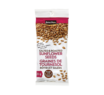 Image of product Selection - Salted & Roasted Sunflower Seeds, 70 g