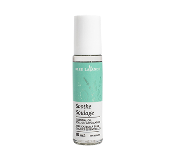 SOOTHE essential oil roll-on applicator, 10 ml, Transparent