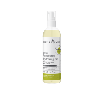 Lavender-hemp hydrating oil, 120 ml