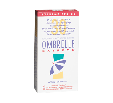 Image 2 of product Ombrelle - Complete Extreme Sunscreen Lotion, 120 ml, SPF 30, Extreme