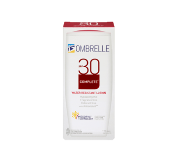 Image 3 of product Ombrelle - Complete Sunscreen Lotion SPF 30, 120 ml, SPF 30
