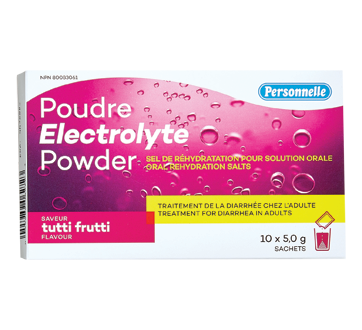 Image of product Personnelle - Electrolyte Powder, 10 x 5 g, Tutti Frutti