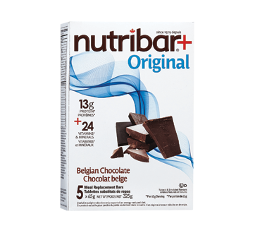 Image of product Stella - Meal Replacement Bars, Belgian Chocolate, 5 units