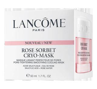 Rose Sorbet Cryo-Mask Pore Tightening Smoothing Cooling Mask, 50 ml