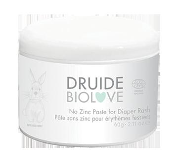 Biolove No zinc paste for Diaper Rash, 60 g