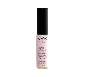 Image 1 of product NYX Professional Makeup - Bare With Me Cannabis Sativa Seed Oil Lip Conditioner, 1 unit, Clear