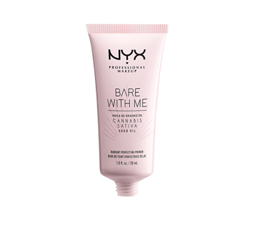 Image 2 of product NYX Professional Makeup - Bare With Me Cannabis Sativa Seed Oil Radiant Perfecting Primer, 1 unit