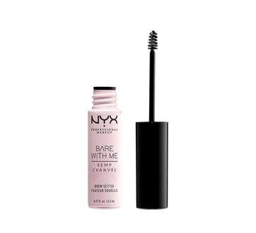 Image 2 of product NYX Professional Makeup - Bare With Me Cannabis Sativa Seed Oil Brow Setter, 1 unit, Clear