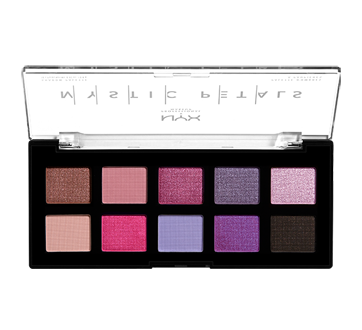 Image 2 of product NYX Professional Makeup - Mystic Petals Shadow Palette, 1 unit, Midnight Orchid