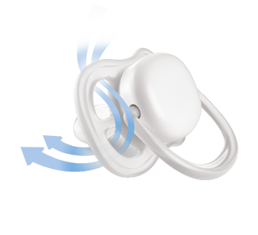 Image 3 of product Avent - Ultra Air Pacifers, 2 units