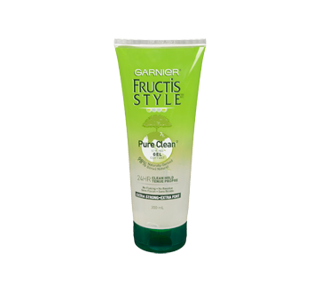 Fructis Style - Gel, 200 ml, Pure Clean