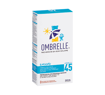 Image of product Ombrelle - Moisturizing Protection For Kids, 240 ml, SPF 45