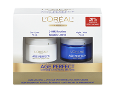 Image of product L'Oréal Paris - Age Perfect Moisture Cream, Day and night, 2 x 75 ml