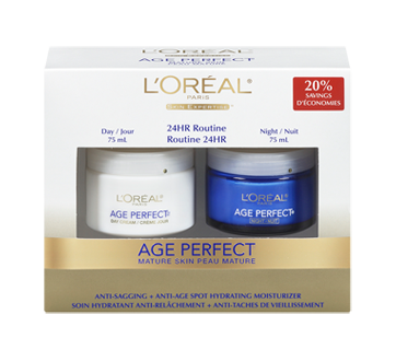 Age Perfect Moisture Cream, Day and night, 2 x 75 ml