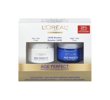 Image 3 of product L'Oréal Paris - Age Perfect Moisture Cream, Day and night, 2 x 75 ml