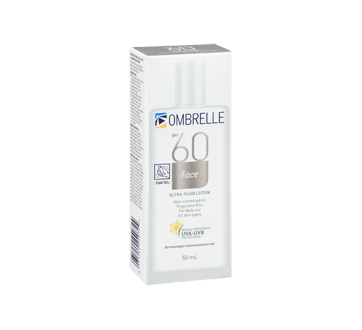 Image 2 of product Ombrelle - Ultra Fluid Lotion, 50 ml, SPF 60