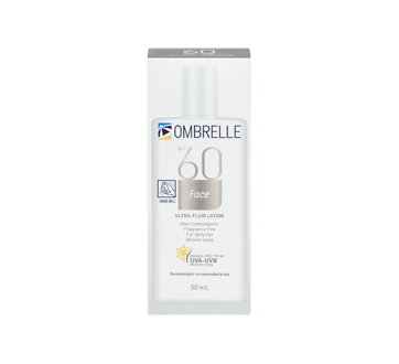 Image 3 of product Ombrelle - Ultra Fluid Lotion, 50 ml, SPF 60