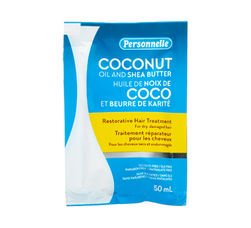 Restorative Hair Treatment, 50 ml, Coconut Oil & Shea Butter