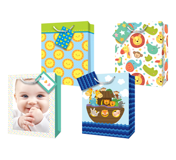 Gift Bags, Baby, 12 units, Large
