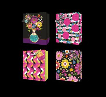 Gift Bag, Flowers, 1 unit, Medium