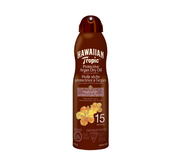 Image of product Hawaiian Tropic - Protective Argan Dry Oil Spray SPF 15, 170 g