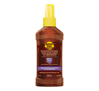 Sunscreen Oil Spray SPF 15, 240 ml