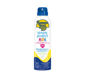 Image of product Banana Boat - Simply Protect Kids Sunscreen Spray, 170 g, SPF 50+