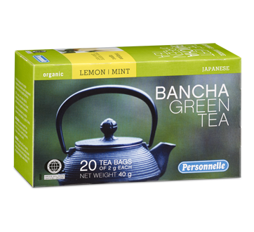 Image of product Personnelle - Bancha Green Tea, 20 units, Lemon mint