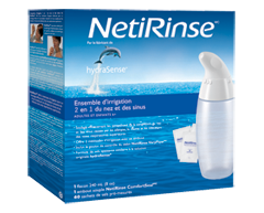 Image of product HydraSense - NetiRinse 2-in-1 Nasal and Sinus Irrigation Kit
