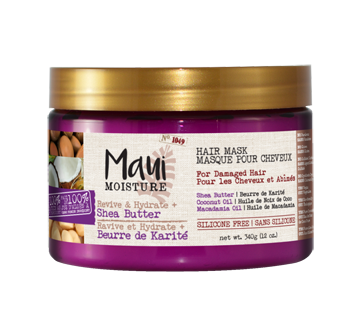 Damaged Hair Shea Butter Hair Mask, 340 g
