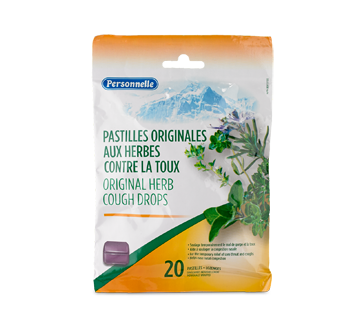 Image of product Personnelle - Original Herb Cough Drops, 20 units
