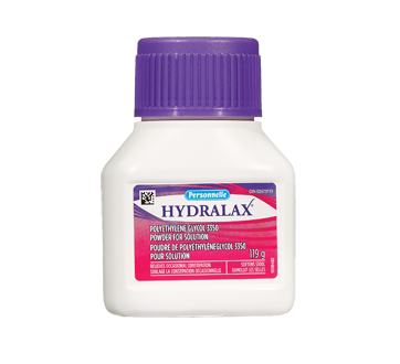 Image of product Personnelle - Hydralax Polyethylene Glycol 3350 Powder for Solution, 119 g